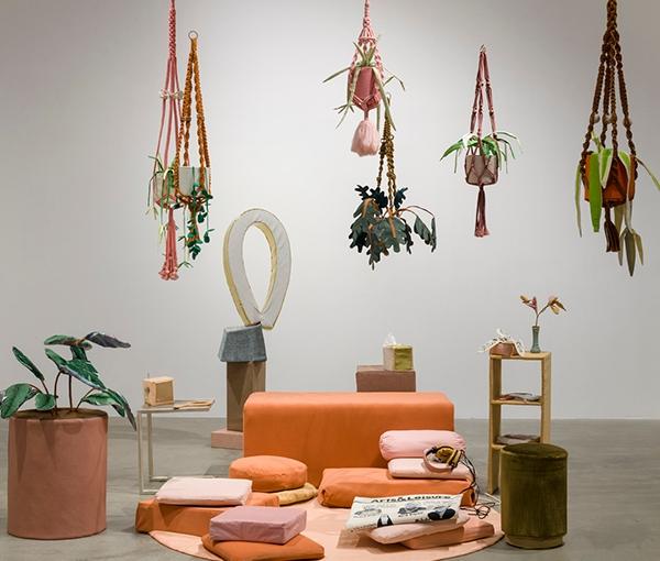 "Megan Whitmarsh: ""Arts & Leisure Section"" @ Los Angeles MunicipalGallery"